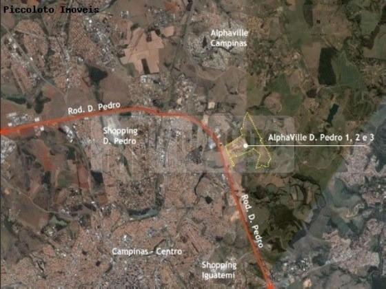 Terreno à venda em Alphaville, Campinas - SP