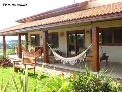 Casa de 4 dormitórios em Recanto Dos Passaros, Indaiatuba - SP