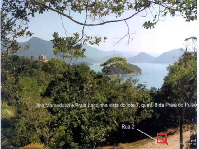 Terreno à venda em Ubatuba, no bairro Praia Do Pulso