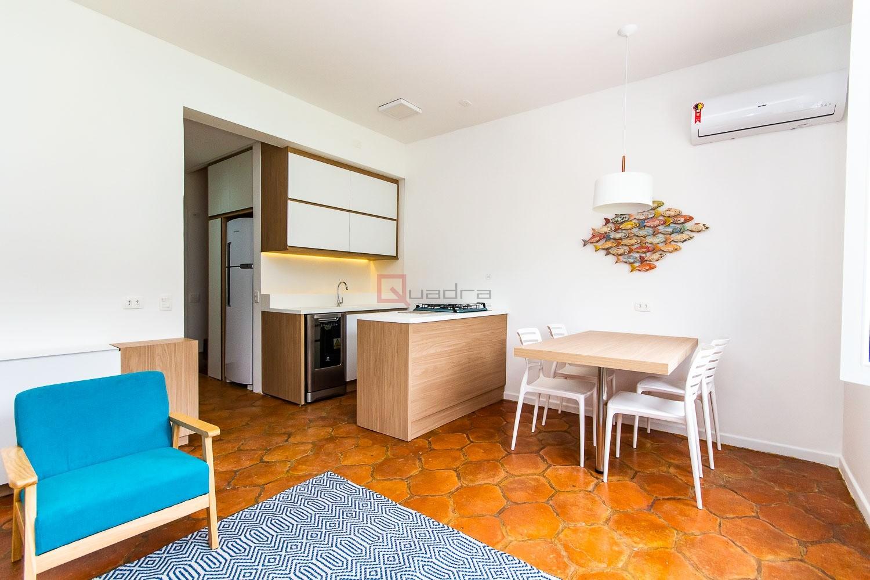 Apartamento com 1 dormitório à venda em Caraguatatuba, no bairro Tabatinga