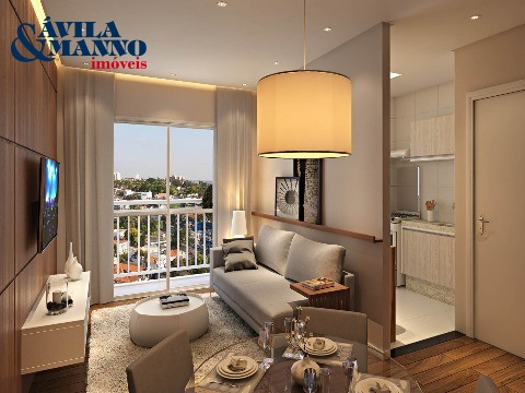 Apartamento de 2 dormitórios em Vila Alpina, Sao Paulo - SP