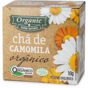 Chá Organic Camomila Orgânico c/10 Saquinhos 10g