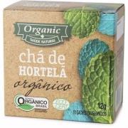 Chá Organic Hortelã Orgânico c/10 Saquinhos 12g