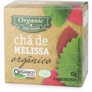 Chá Organic Melissa Orgânico c/10 Saquinhos 13g