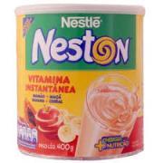 Vitamina Instantânea Nestlé Neston Mamão,Maçã,Banana e Cereal 400g