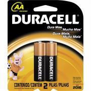 Pilha Alcalina Duracell Duralock AA c/2