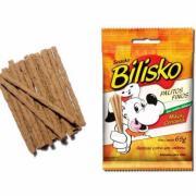 Alimento Para Cães Bilisko Palitos Finos Sabor Maçã e Cenoura 65g