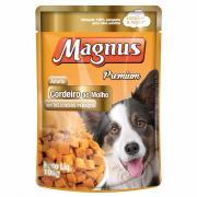 Ração para Cães Magnus Premium Cordeiro ao Molho Sachê 100g