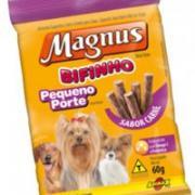 Alimentos Para Cães Pequeno Porte Magnus Bifinhos Sabor carne 60g