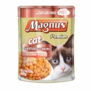 Alimento para Gatos Magnus Premium Salmão ao Molho 85g
