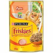 Ração para Gatos Friskies Peru Sachê 85g
