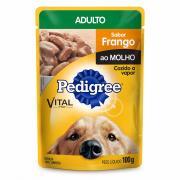 Ração para Cães Pedigree Adulto Frango Sachê 100g