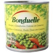Ervilhas e Cenouras Finas Bonduelle 265g