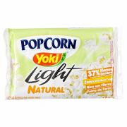 Pipoca para Micro-ondas Yoki Natural Light 100g