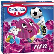 Gelatina em Pó Dr. Oetker Uva 30g
