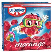 Gelatina em Pó Dr. Oetker Morango 30g