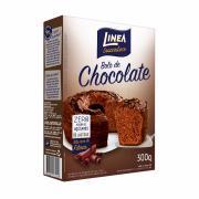 Mistura para Bolo Linea Sabor Chocolate Zero Adição de Açúcar 300g