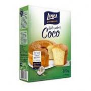 Mistura para Bolo Linea Sabor Coco Zero Adição de Açúcar 300g