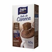 Mistura para Bolo de  Caneca Linea Sabor Chocolate Zero Adição de Açucar 60g