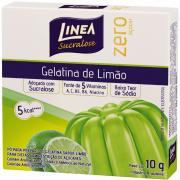 Gelatina em Pó Linea Limão Zero Açucar 10g