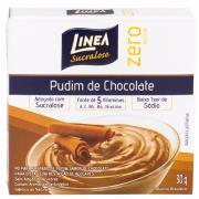 Pó para Preparo de Pudim Linea Chocolate Zero Açúcar 30g