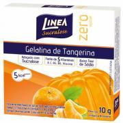 Gelatina em Pó Linea Tangerina Zero Açucar 10g