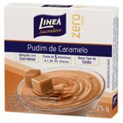 Pó para Preparo de Pudim Linea Caramelo Zero Açúcar 25g