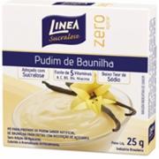 Pó para Preparo de Pudim Linea Baunilha Zero Açúcar 25g