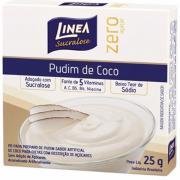 Pó para Preparo de Pudim Linea Coco Zero Açúcar 25g