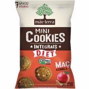 Mini Cookies Integrais Mãe Terra Diet Maçã e Canela Orgânico 25g