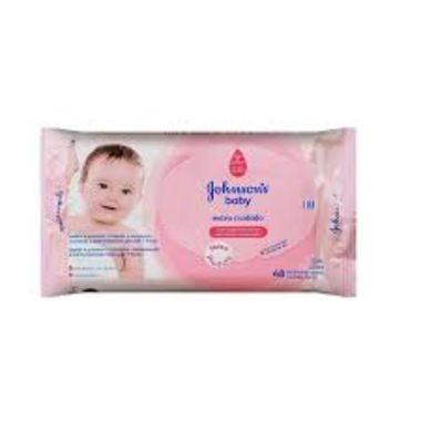 Lenço Umedecido Johnson's Baby Extra Cuidado c/48