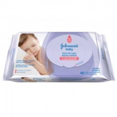 Lenço Umedecido Johnson's Baby Hora do Sono c/48
