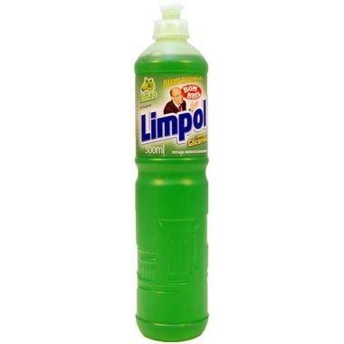 Detergente Limpol Limão 500ml