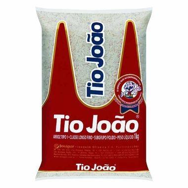 Arroz Branco Tio João Tipo 1 - 1Kg