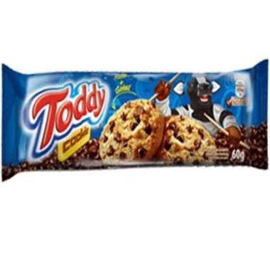 Cookies Toddy Baunilha com Gotas de Chocolate 60g