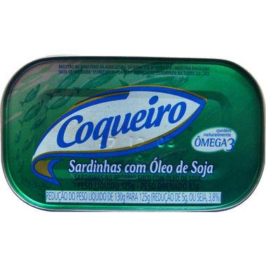 Sardinha Coqueiro com Óleo 125g