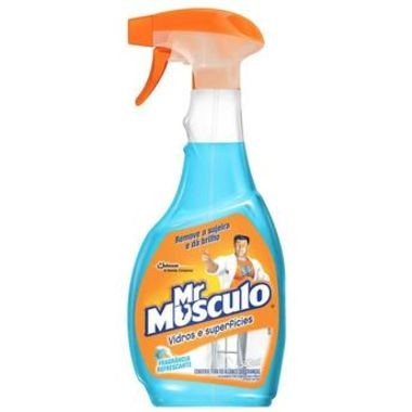 Limpa Vidros Mr Músculo Fragrância Refrescante Aparelho 500ml