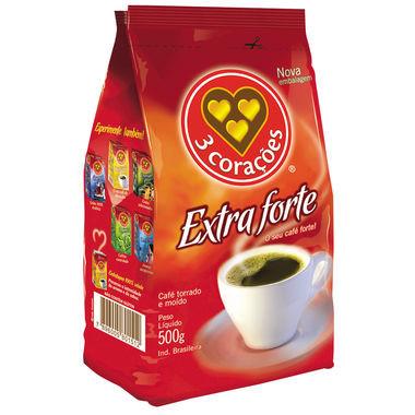 Café 3 corações Extra Forte Almofada 500g