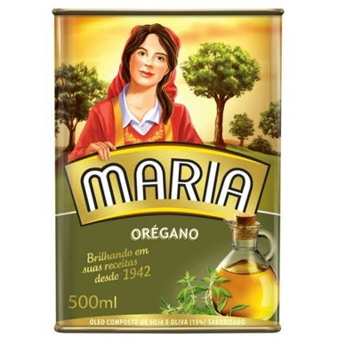 Óleo Maria Composto de Soja e Oliva - Orégano 500ml
