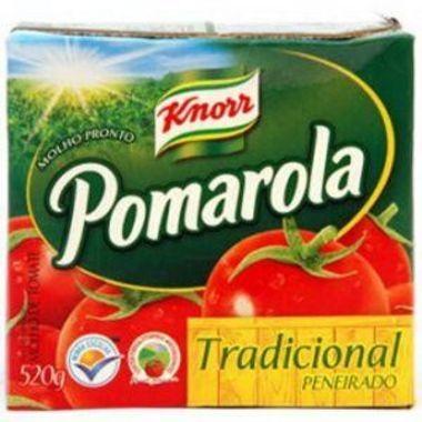 Molho de Tomate Pomarola Tradicional Caixa 520g