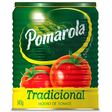 Molho de Tomate Pomarola Tradicional Lata 340g