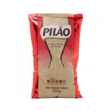 Café Pilão Torrado e Moído Almofada 500g