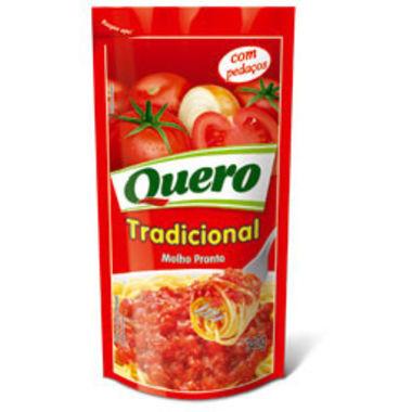 Molho de Tomate Quero Tradicional Sachê 340g