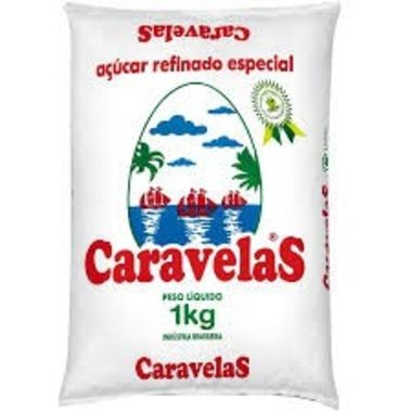Açúcar Refinado Caravelas 1Kg