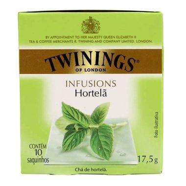 Chá Inglês Twinings Hortelã c/10 Saquinhos 17g