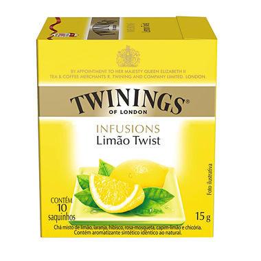 Chá Inglês Twinings Limão Twist c/10 Saquinhos 15g