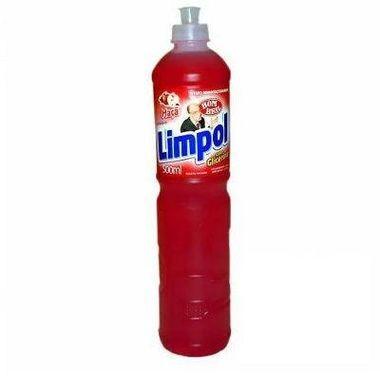 Detergente Limpol Maçã 500ml