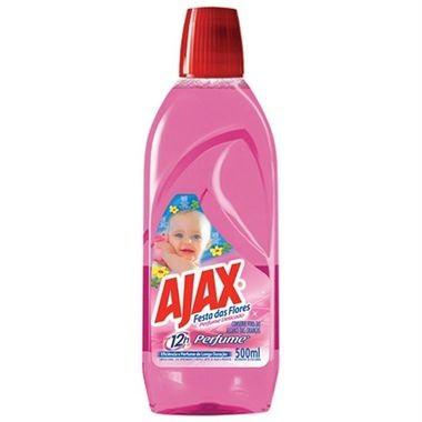 Limpador Ajax Festa das Flores - Perfume Delicado 500ml
