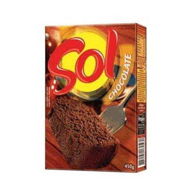 Mistura para Bolo Sol Sabor Chocolate 450g
