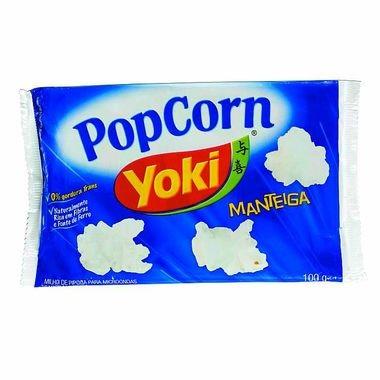 Pipoca para Micro-ondas Yoki Manteiga 100g